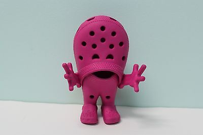 Crocs Shoe Croslite Guy Pink Robot Figure Store Display Advertising Collectible