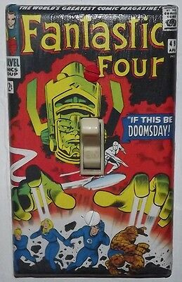 Fantastic Four 49 Light Switch Cover Plate - Marvel Comics Galactus