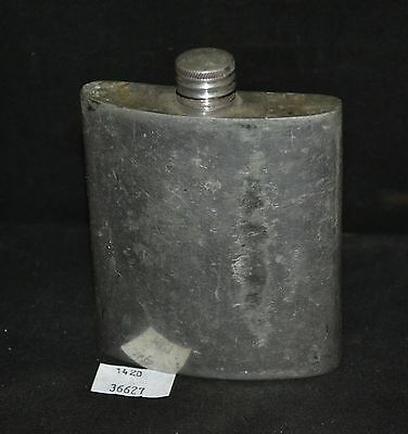ThriftCHI ~ English Pewter SMR Sheffield England 3 Ounce Hip Flask