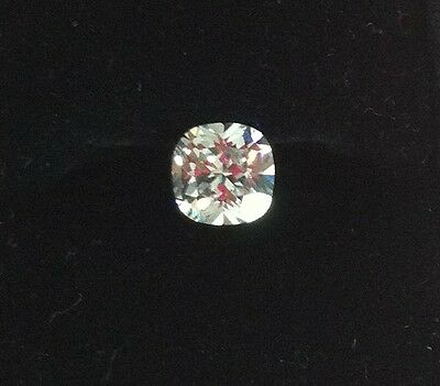 3Ct 8mm Cushion Cut D Color My Russian Diamond Simulated Lab Created Loose Stone