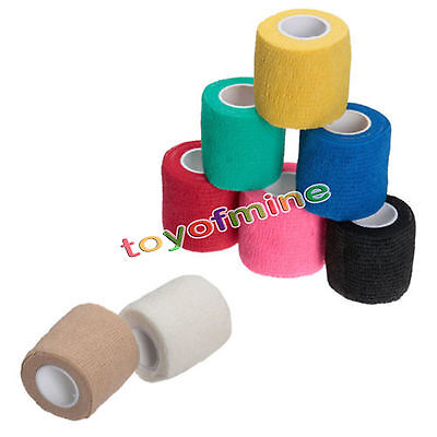 5 Color Self-Adhesive Dressing Tape Muscles Body Care Elastic Bandage Gauze