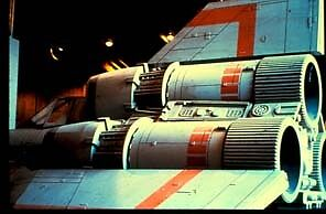 Battlestar Galactica Viper Spaceship 35mm Slide #2