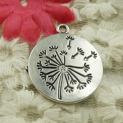 Free Ship 20 pieces Antique silver round tree charms pendant 29x25mm H-4837