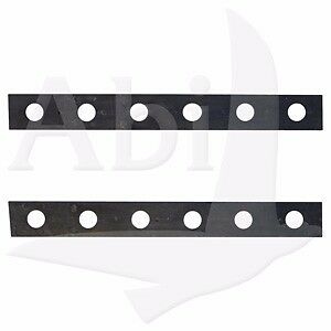 One Pair of 5 Lite Rubber Strip for Windshield Truck Rack Auto Glass