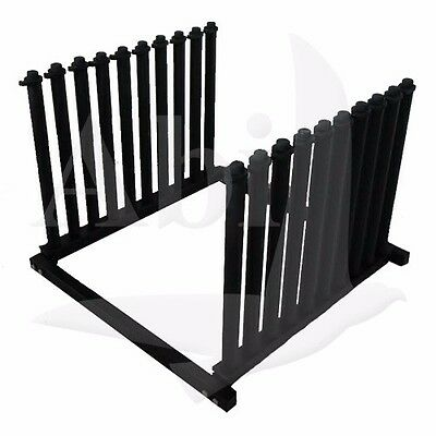9 Lite Windshield Folding Truck Rack for Auto Glass New Design Durable Low Price
