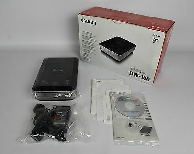 Canon DW-100 AVCHD DVD Burner | AS NEW / UNUSED | FAST POST