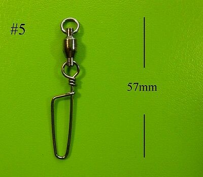 30x DFS size 5, BALL BEARING SWIVELS WITH COASTLOCK SNAP lures tackle