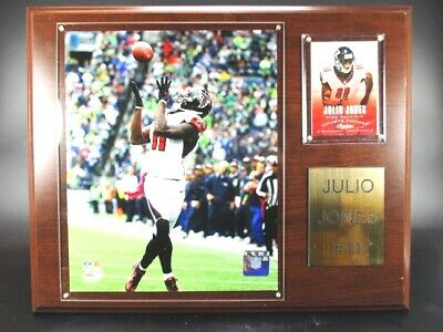 Julio Jones Atlanta Falcons Holz Wandbild 38 cm,Plaque Wall Picture NFL Football