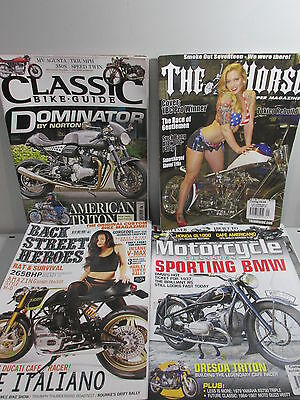 Motorbike Magazine Collection x 20 issues, various, Back Street Heros etc