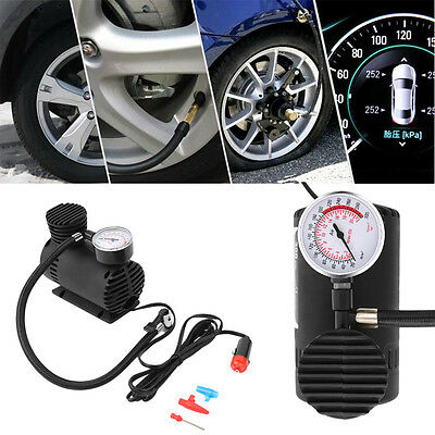 New DC 12V Portable Vehicle Mounted Air Compressor Fast Air Inflation SW