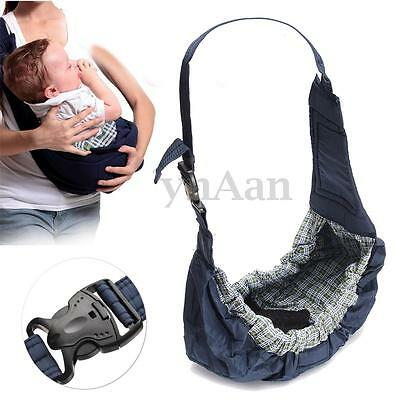 Stretchy Adjustable Baby Carrier Sling Wrap Pouch Newborn Infant Breastfeeding