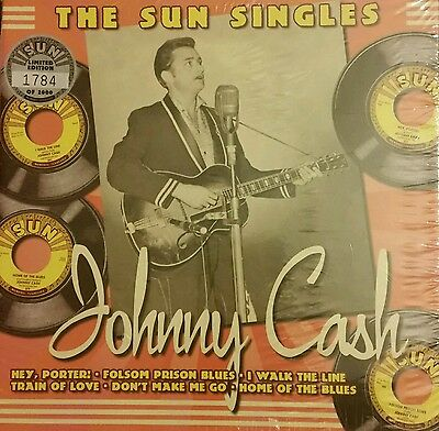 "Johnny Cash Sun Records Box Set Ltd 2000 7"" Rare! Numbered!"