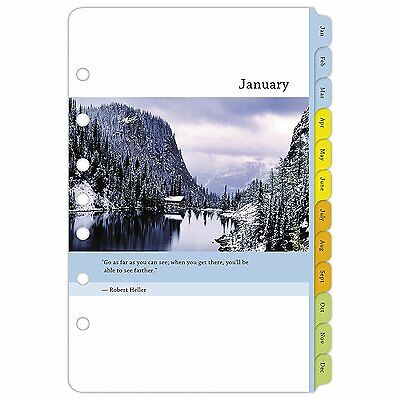 Day-Timer Weekly Planner Refill 2017, Two Page Per Week, Loose ...