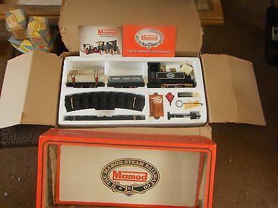 Mamod Sr1 Live Steam Train Set. Never Used. Only Opened For Pictures