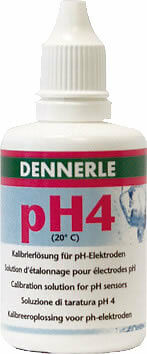 Dennerle pH-Eichlösung 4 - 50 ml