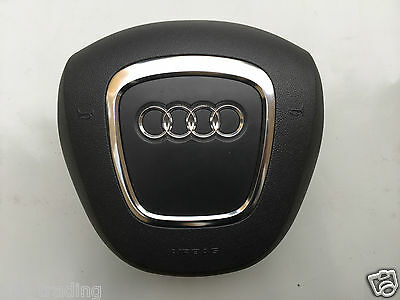 Audi S Line A3 A4 S4 A5 A6 A8 Q7 3 Spoke Drivers Steering Wheel Airbag 8E0880201