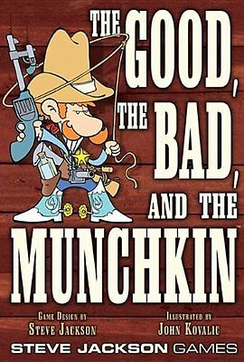 Steve Jackson Games The Good, the Bad, and the Munchkin