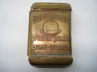 Cww1 The Matchless Hat A Perfect Striker Sold By All Leading Hatters Vesta Case