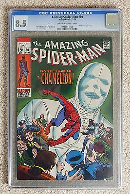 Amazing Spider-Man # 80 CGC 8.5