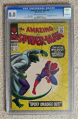 Amazing Spider-Man # 45 CGC 8.0