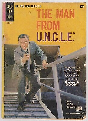 Man From UNCLE #2, Good - Very Good Condition.