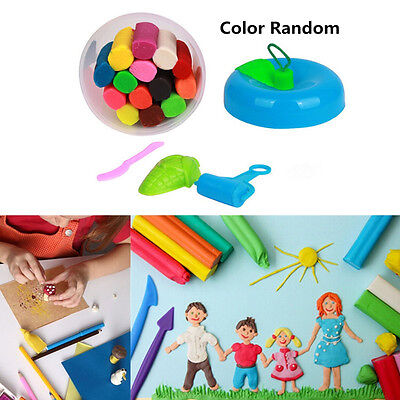 14Color/Barrel Air Drying DIY Malleable Fimo Polymer Modeling Clay Playdough Toy