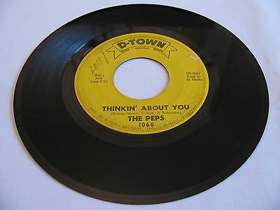 The Peps - Thinkin' About You / This I Pray - D-Town