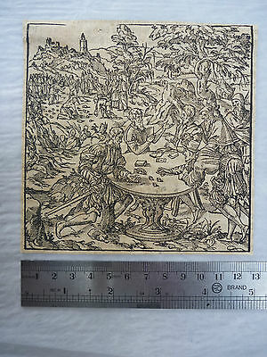 1500s  Engravings gamblers  CASINO !  provenance Seeger collection to research P