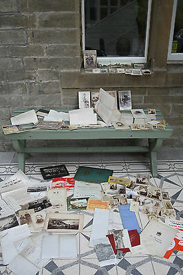 600+ITEM GENTLEMANS COLLECTION SCARBOROUGH and AREA  two suitcases 140 postcard