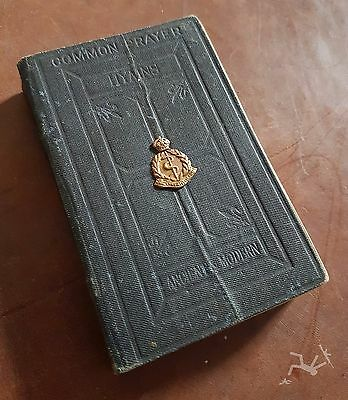 WW2 RAMC royal army medical corps officers book of common prayer, personal item.