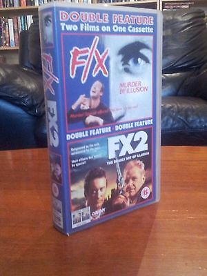 FX and FX2 Double Bill VHS Video