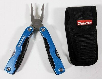 Makita 98P123 11-in-1 Multi-Tool (Zange, Messer, Säge) in Gürteltasche