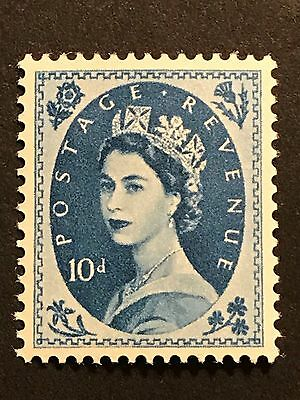 "Great Britain 1955-57 ""ELIZABETH II"" Scott 329 $20  MH OG"