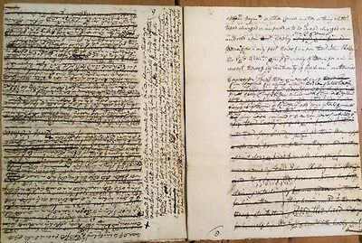 1772 - Manuscript Demise For Property In Rothbury - Robert Dobson.