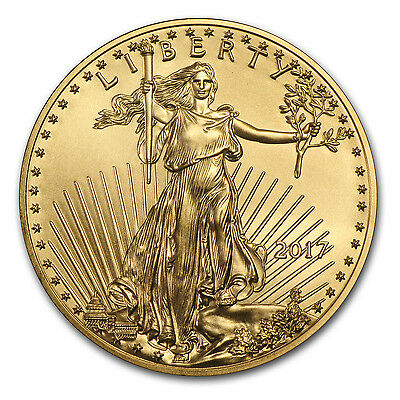 SPECIAL PRICE! 2017 1 oz Gold American Eagle Coin Brilliant Uncirculated