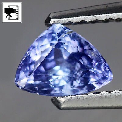 Brillante Tanzanite Naturale  Ct.0,70 Trillion  Vs Intrattata