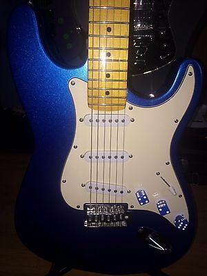 Strat Style partscaster electric guitar.  Great player and sounds awesome!!!