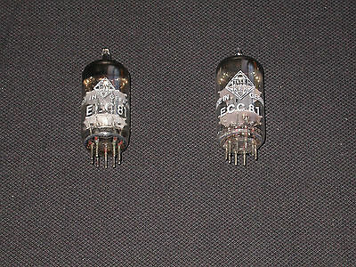 ECC 81 Telefunken Pair matched