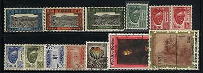 Togo - 34 stamps mixed - Years 1925 to 1981...C.V. $18.05
