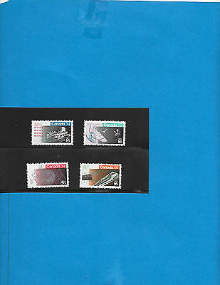 Canada     #  1078-79  # 1092-93  MNH  ( From Annual Year Book )