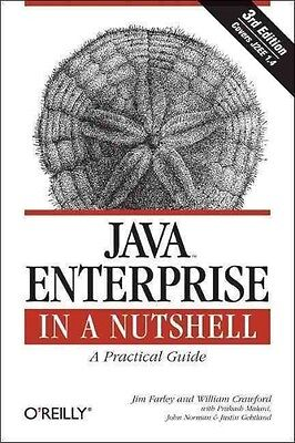 Java Enterprise in a Nutshell by Jim Farley Paperback Book (English)