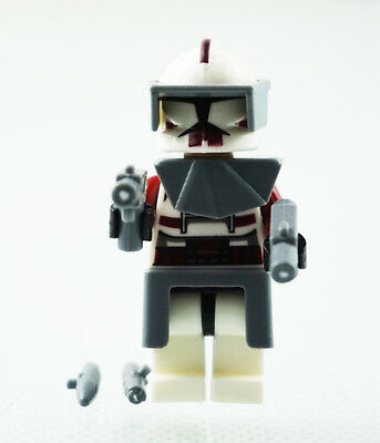 Minifigures The Force Awakens Clone Commander Fox Star Wars Movie Building Toys