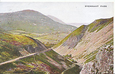 Wales Postcard - Sychnant Pass    5727
