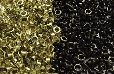 500, 1000 Eyelets without Washers *4mm*  *5mm*