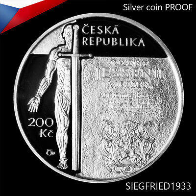Czech Silver Coin PROOF (2016) - Ann. of the birth of Jan Jessenius - 200 CZK