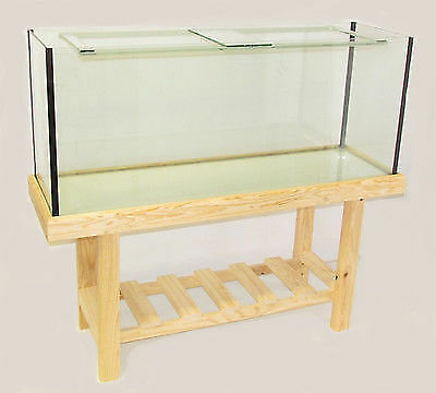 4ft Fish Tank with Wooden Stand and Filter