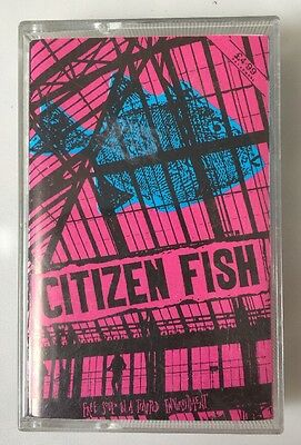 Citizen Fish - Free Souls In A Trapped Environment CASSETTE TAPE