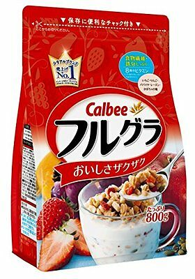 Calbee, fruit granola 800g. Free shipping from Japan.