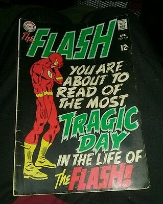 The Flash 184 VG 1968 dc comicss lot run set tv show movie silver age collection