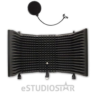 AxcessAbles SF-101 Recording Studio Microphone Isolation Shield